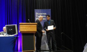 Marcilio Da Silva wins Diabetes Technology Society Student Research Award
