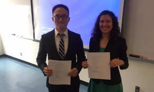 Two new DoyleGroup Ph.D.s!